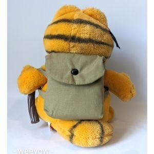 Vintage Toys - Vintage Garfield Not A Happy Camper Plush